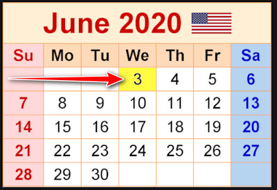 Paterson Fund Calendar June 3, 2020